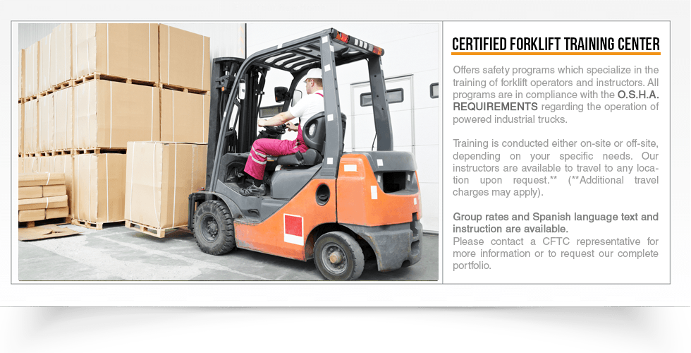 Certified Forklift Training Center Clovis Ca